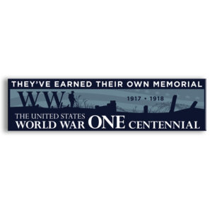 WW1 bumper sticker