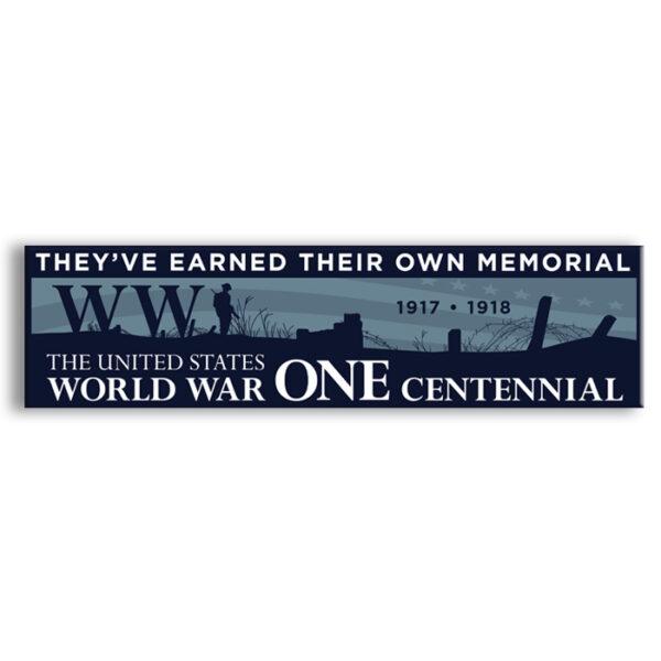 WW1 bumper sticker