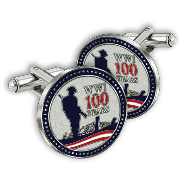 ww1 centennial cufflinks