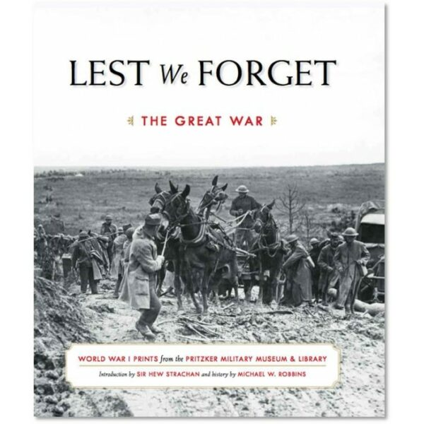 ww1 book lest we forget